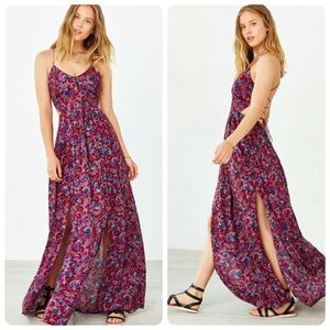 Urban outfitters ecote maxi dress size s